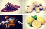 Рецепт: имбирь с медом, корицей и лимоном для похудения