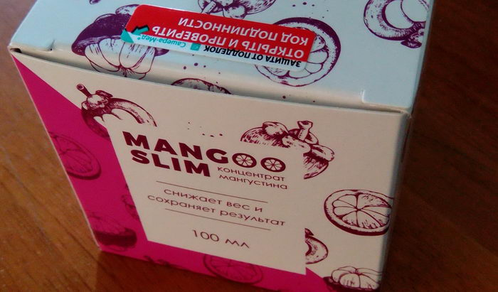 Коробка с мангослимом