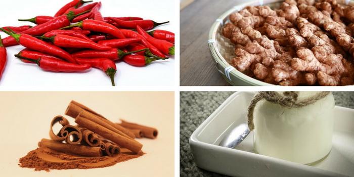 кефир имбирь корица красный перец для похудения